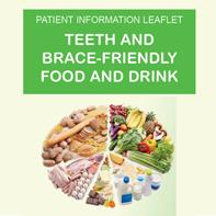 Find out the best thinks to eat and drink during your brace treatment - essential information to reduce the risk of damage to the teeth