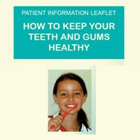 Contains general information about keeping your teeth and gums clean and in great shape for braces